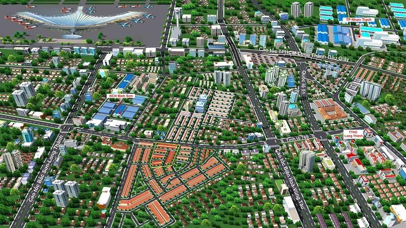 Dự án sân bay Long Thành khiến giá đất xung quanh lên cao