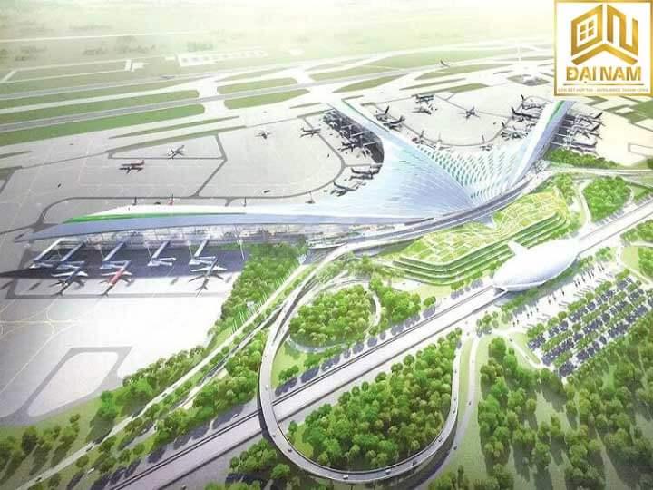 Sân bay quốc tế  Long Thành được quy hoạch với tổng diện tích lên tới 40 ngàn héc ta bao gồm vùng phụ cận