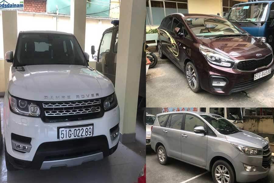 Rất nhiều xe sang đã bị tich thu khi cảnh sát khám xét Alibaba