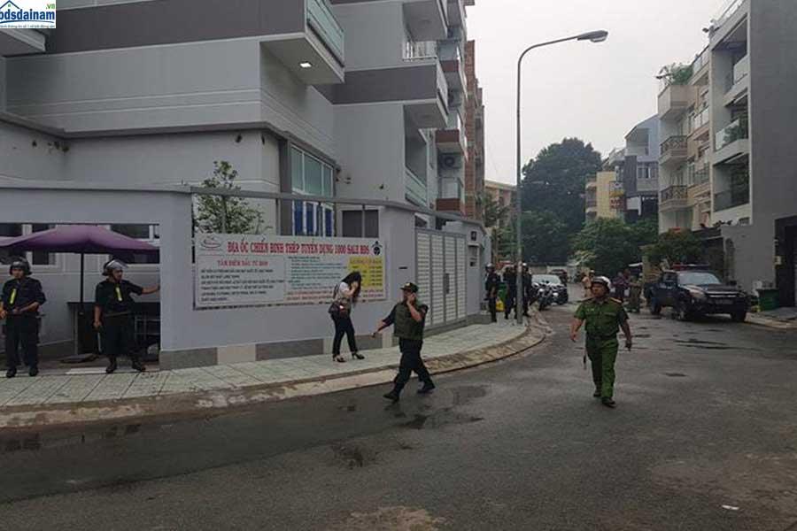 Cảnh sát đang điều tra công ty con Tia Chớp