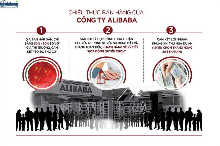 Chiêu thức bán hàng của công ty Alibaba