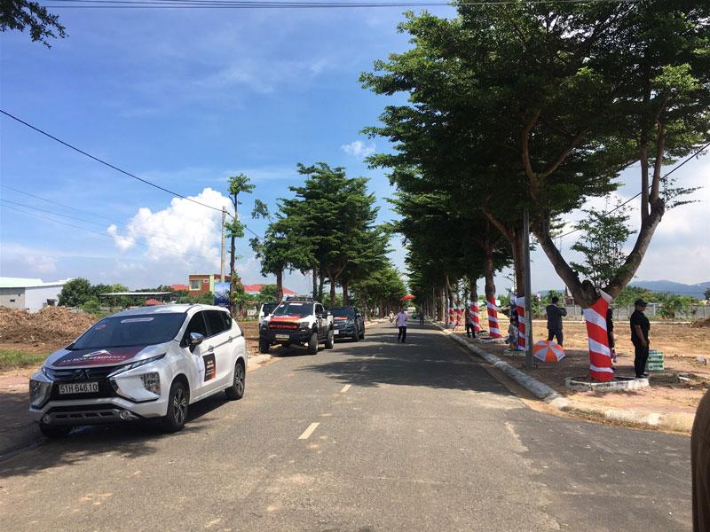 Nhiều dự án bán đất nền 1/500 đã được phê duyệt tại xã Bàu Cạn